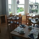 Sea view dining room