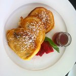 Blueberry Pancakes - breakfast special ;-)