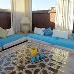Relaxing roof-terrace