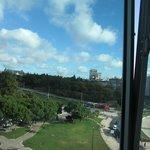 Vista do quarto para o Parque Eduardo VII