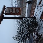 Snowy day, good meal at Rusty's Ranch House