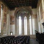 l'abside pentagonale della chiesa vecchia vista dal coro