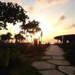 Sunset at Komune