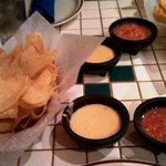 Chips, Queso and Salsa