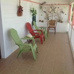 Terrasse of one of our rooms