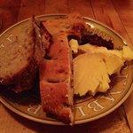 dessert cheese plate