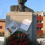 Piazza lenin/statua di lenin