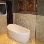 Cuarto de Baño, funcional y exquisitamente decorado