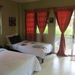 unser Tropical Daze Zimmer
