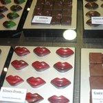Chocolate shop onsite