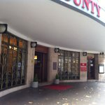 Entrance to the County Hotel