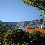 Der Blick auf den Tafelberg