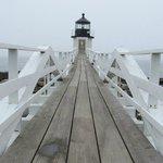 Ramp to lighthouse