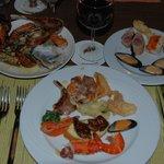 Great food at Cafè Gran Via