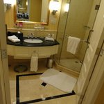 Bathroom on club floor
