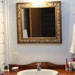 Simple but clean bathroom