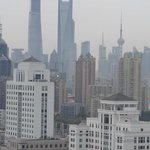View on Shanghai Skyline