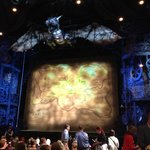 Inside the theatre prior to seeing Wicked