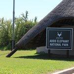 Addo Elephant Park - Ingang