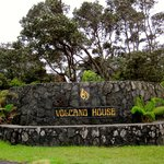 Entrance to the Volcano House