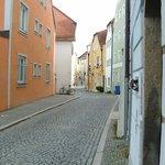 Street scene Passau left bank