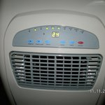Airconditioning unit in room 215