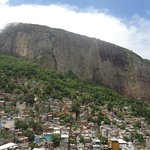 View to the top of Rocinha
