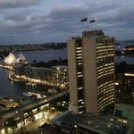 Amazing views from the room - evening