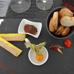 Foie gras et confiture de figues corses