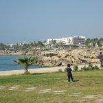 Paphos area view