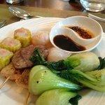 My Oriental plate