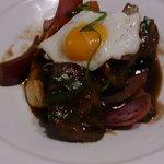 Carne de buey con salsa de ostion y soja