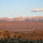 Sierra del Carmen from atop Rio Grande Nature Trail