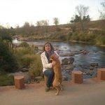 En el río Los Reartes