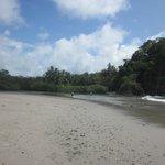 5 minute walk to this amazing beach