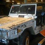 UN vehicle with awe-inspiring story