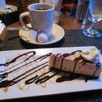Cheesecake & coffee