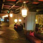 Inner corridor within hotel