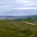 On Hike from B&B. Dunfanaghy in distance