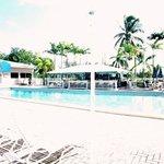 Pool Area and Tiki Bar