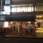 Federal Delicatessen Shop front, viewed from Casino doors