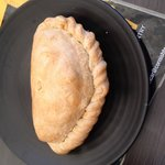 Proper crimp on a Cornish pasty!