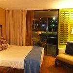 Room we stayed in-2 queen beds on the 1st floor-garden view