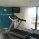 Salle fitness + accès terrasse