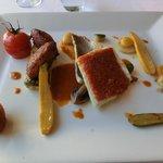 Amazing fish main course