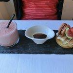 Wife's pudding choice!  Yum!