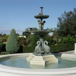 Fountain in Hollis Gardens