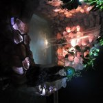 This Rose Quartz Fountain is built with over 4 tonnes of crystal!!!