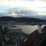 View over Bergen from apartment