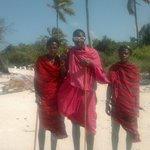 Masais de Playa y Bodyguards de Hotel
